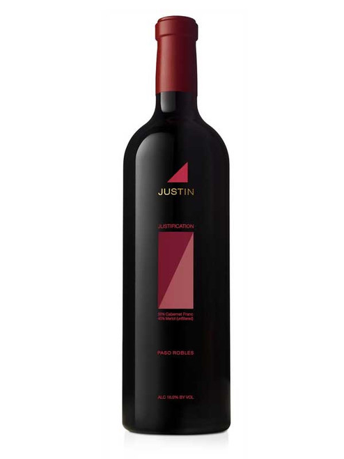 Justin 2016 Justification Paso Robles Red Blend 750mL