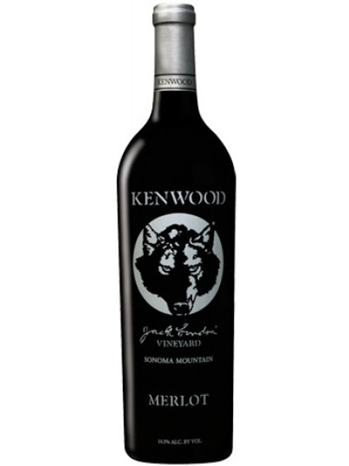 Kenwood 2012 Jack London Vineyard Sonoma Mountain Merlot 750mL