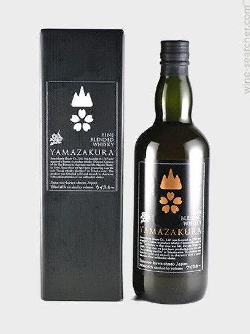 Yamazakura Fine Blended Japanese Whisky 750mL