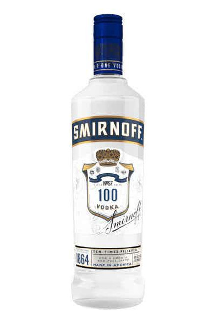 Smirnoff Recipe №57 100 Proof Vodka 1L