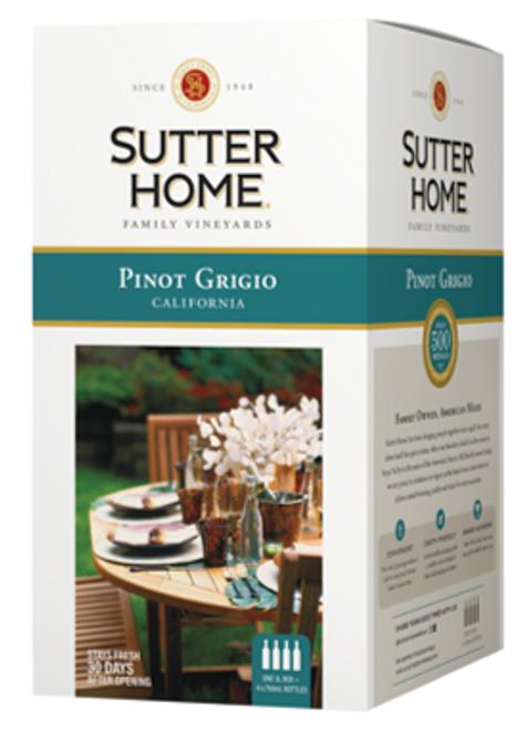 Sutter Home California Pinot Grigio 3L box