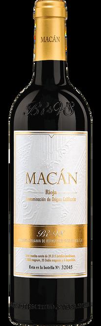 Bodegas Benjamin de Rothschild & Vega Sicilia SA 2015 Macán Rioja Red Wine 750mL