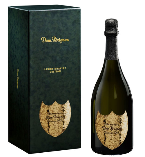 Dom Perignon Lenny Kravitz Edition Vintage 2008 Brut Champagne 750mL