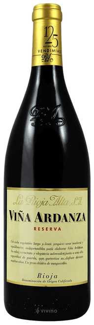 La Rioja Alta 2012 Vina Ardanza Reserva Rouge 750mL