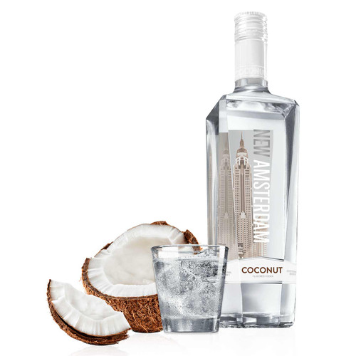 New Amsterdam Coconut Flavored Vodka 750mL