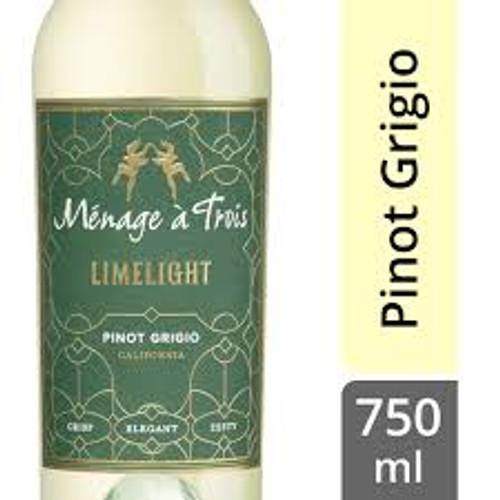 Ménage à Trois Limelight Pinot Grigio 750mL