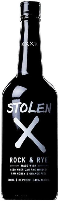 Stolen X Rock & Rye Whiskey 750mL