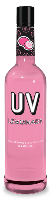 UV Lemonade Pink Lemonade Flavored Vodka 750mL