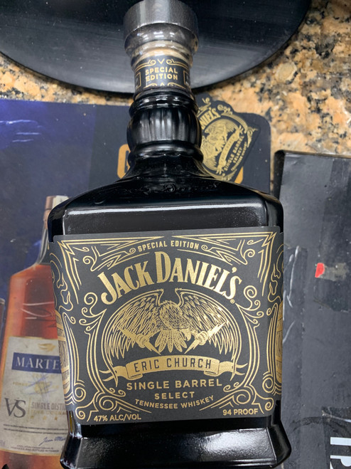 Jack Daniel's Special Edition Eric Church Single Barrel Select Tennessee Whiskey 750mL
