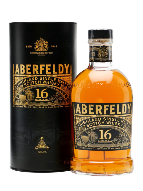 Aberfeldy 16 Year Highland Single Malt Scotch Whisky 750mL