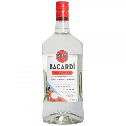 Bacardi Dragonberry Flavored Rum 1.75L