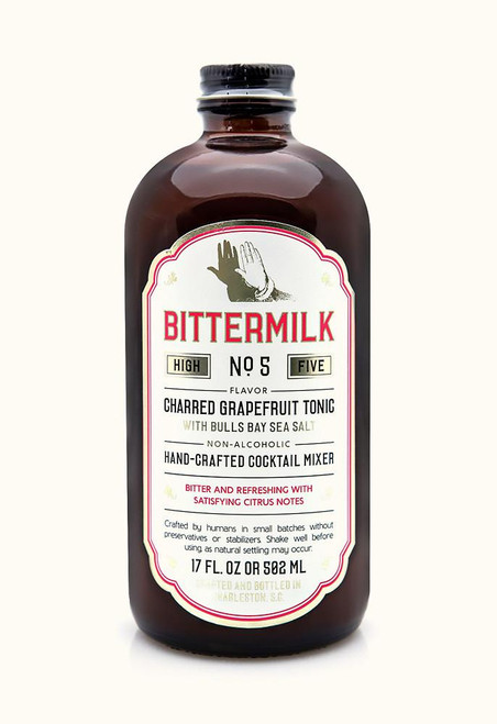 Bittermilk #5 Charred Grapefruit Tonic Cocktail 17oz