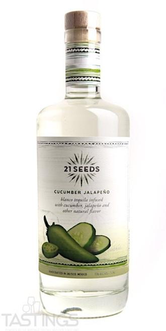 21 Seeds Cucumber Jalapeño Blanco Tequila 750mL