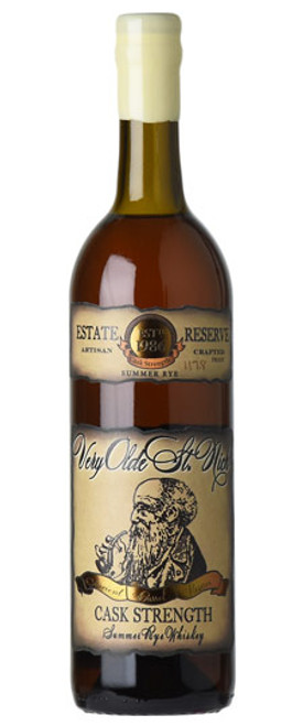 Very Olde St. Nick Cask Strength Summer Rye Whiskey 750mL