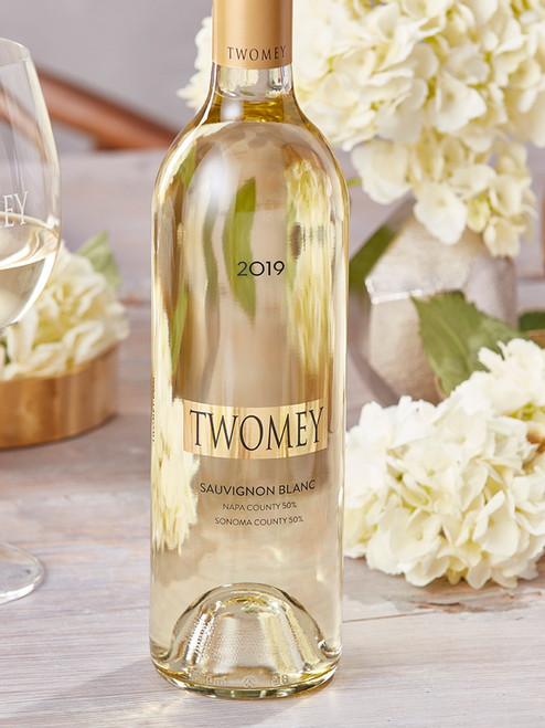 Twomey 2019 Napa County 50% Sonoma County 50% Sauvignon Blanc 750mL
