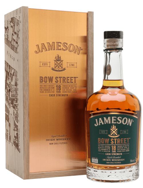 Jameson Bow Street 18 Year Cask Strength Triple Distilled Irish Whiskey 750mL