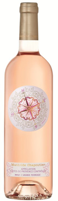 Mathilde Chapoutier 2018 Grand Ferrage Appellation Cotes de Provence Contrôlee Vin Rosé Rose Wine 750mL