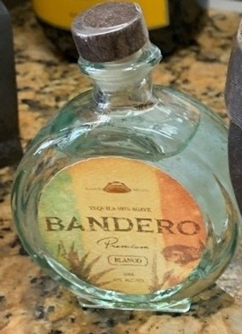 Bandero Premium Blanco Tequila 50mL