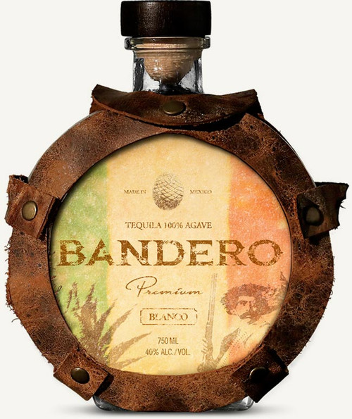 """Bandero Premium Blanco Tequila 750mLThe best tequilas in the world are produced from high-altitude blue agave plants, grown high in the eastern Los Altos Highlands of Jalisco, Mexico. The higher elevation where Bandero Tequila agave plants experience cooler nights, less rain and colder winters, transforming Bandero into a sweeter, richer """"pineapple.""""  Los Altos, famous for its hardened red clay soil, forces the Bandero agave roots to work harder to find this regions special crystalline waters, while gathering copious amounts of minerals. The result is a richer agave, high in natural sugar with notes of pear and peach making Bandero a premium tequila ideal for sipping or in your favorite cocktail."""