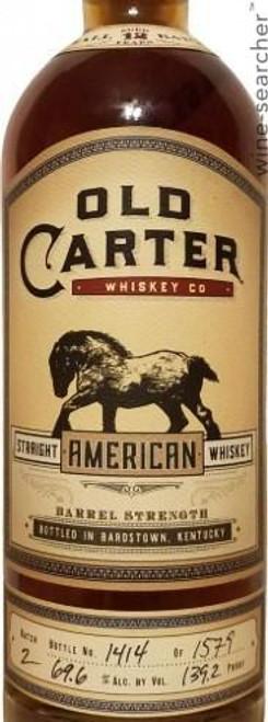 Old Carter 13 Year Batch 4 Small Batch Barrel Strength Straight American Whiskey 750mL