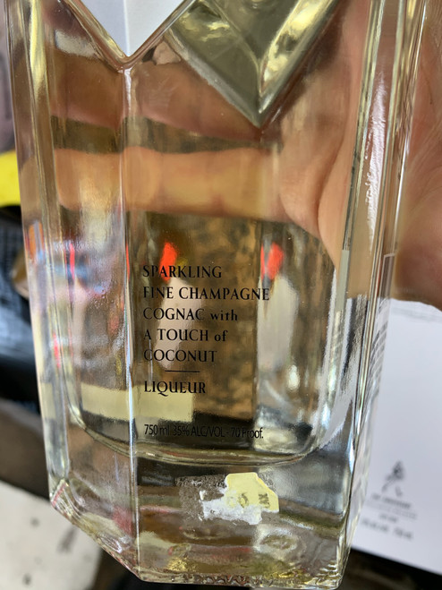 22 Marquis Sparkling Fine Champagne Cognac with a Touch of Coconut Liqueur 750mL