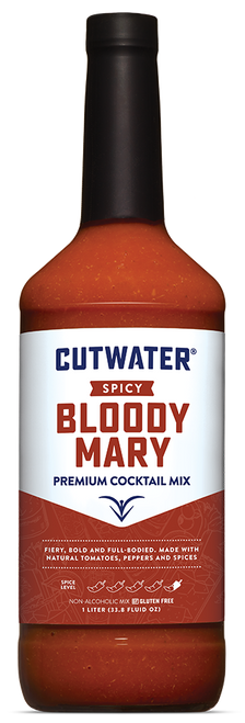 Cutwater Spicy Bloody Mary Premium Cocktail Mix 1L