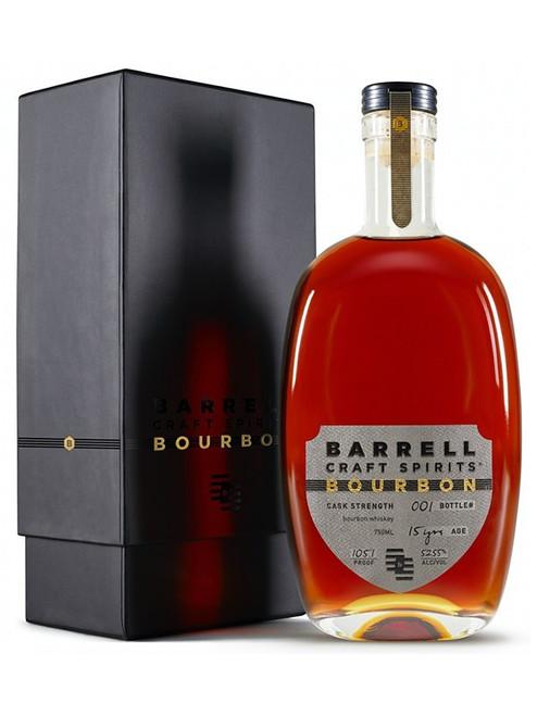 Barrell Craft Spirits 15 Year Cask Strength Bourbon Whiskey 750mL