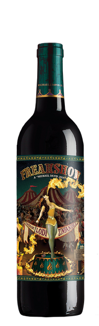 Freakshow 2018 Lodi California Zinfandel 750mL