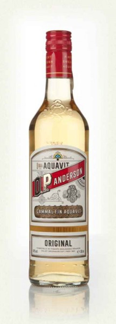 O.P. Anderson Original Swedish Aquavit 750mL