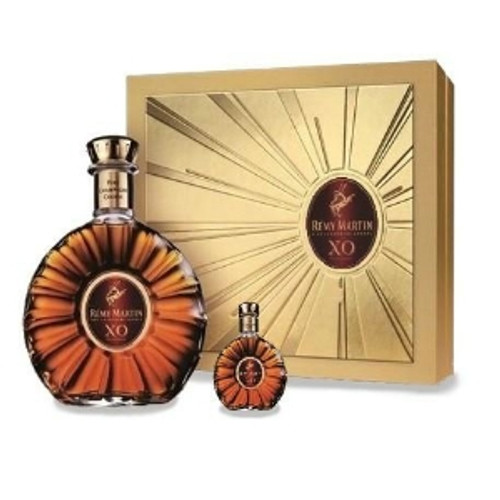 Remy Martin XO Excellence Fine Champagne Cognac 750mL + 50mL Limited Edition Gift Set