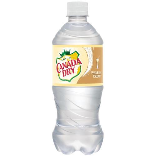 Canada Dry Vanilla Cream Soda 20oz