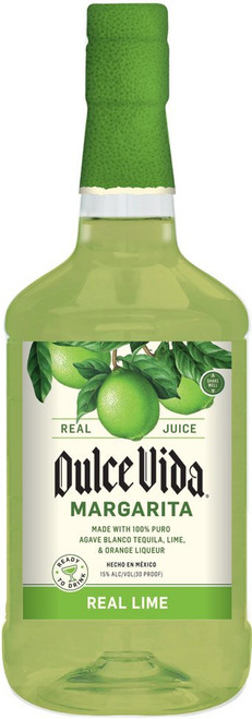 Dulce Vida Tequila Real Lime Margarita - Blanco 1.75L