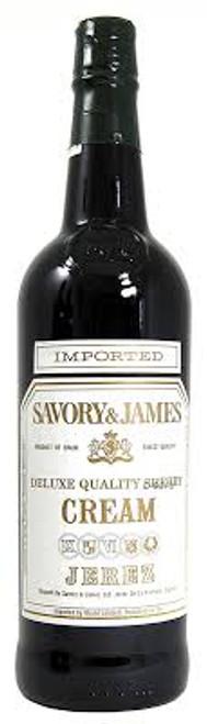 Savory & James Deluxe Quality Sherry Cream Jerez 750mL