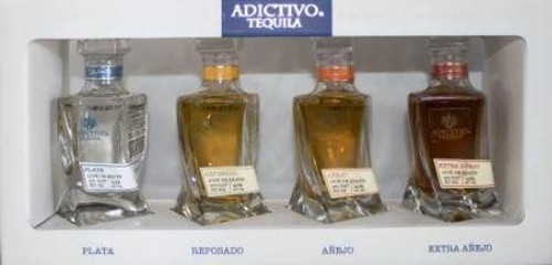 Adictivo Tequila Mini Collection 4/50mL