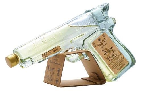 Hijos de Villa Aged Pistol Tequila Reposado 200mL