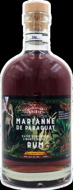 Marianne de Paraguay Revolution Spirit Cask Strength Liberty Select Rum 750mL