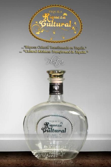 Riqueza Cultural Tequila Plata Premium 750mL