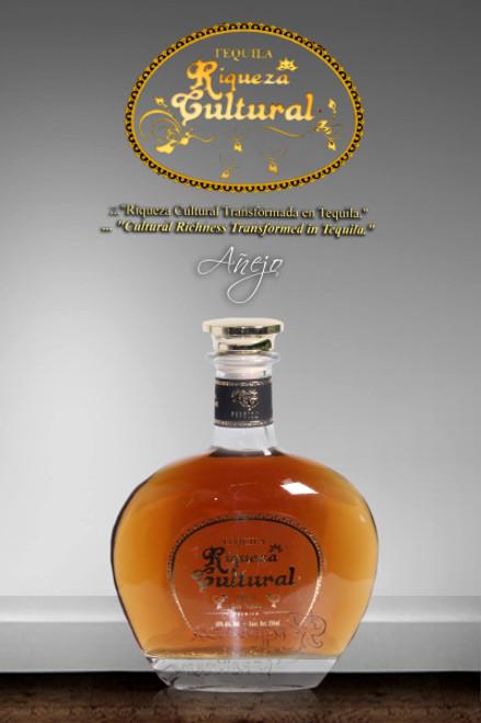 Riqueza Cultural Tequila Anejo Premium 750mL