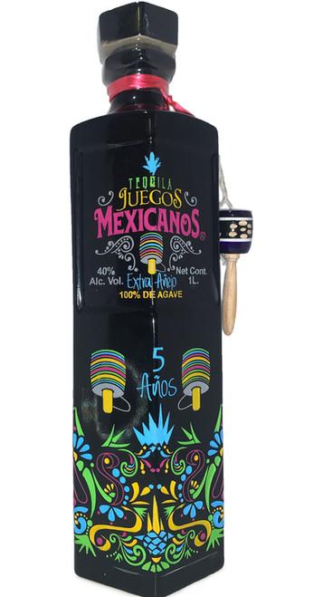 Juegos Mexicanos Tequila Extra Añejo 1L