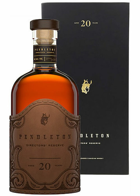 Pendleton Director's Reserve 2020 20 Year Blended Canadian Whisky 750mL