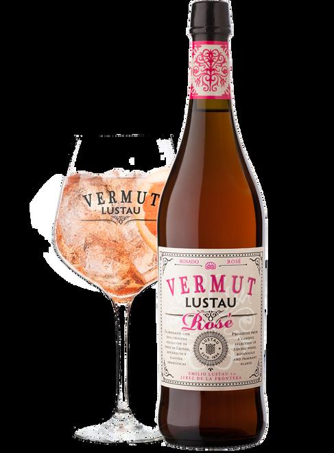 Lustau Vermut Rosado Rosé Vermouth 750mL