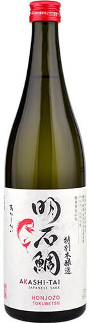 Akashi-Tai Japanese Sake Honjozo Tokubetsu 明石鯛 特別本醸造 720mL