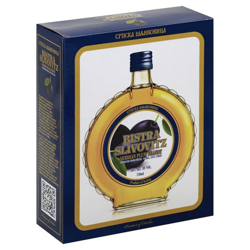 Bistra Slivovitz Serbian Plum Brandy 750mL