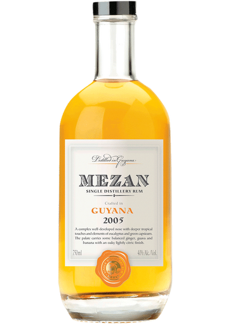 Mezan Gayana 2005 Single Distillery Rum 750mL