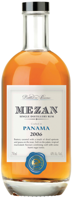 Mezan Panama 2006 Single Distillery Rum 750mL