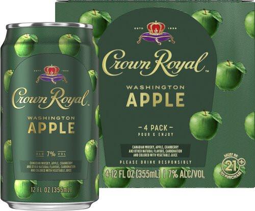 Crown Royal Washington Apple 12oz 4pk