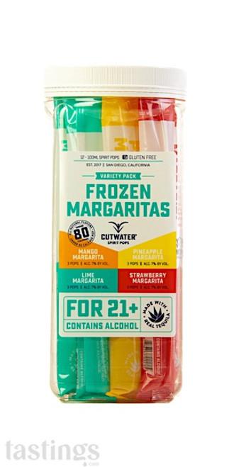 Cutwater Spirit Pops Frozen Margarita Variety Pack