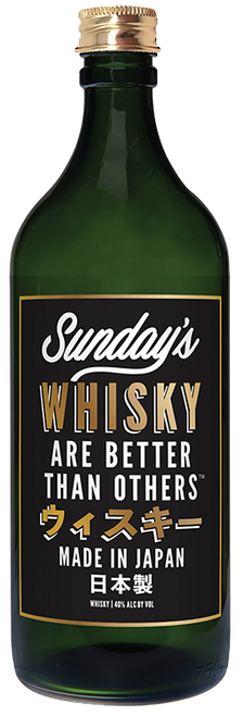 Sunday's Whisky Are Better Than Others Japanese Whisky 750mL