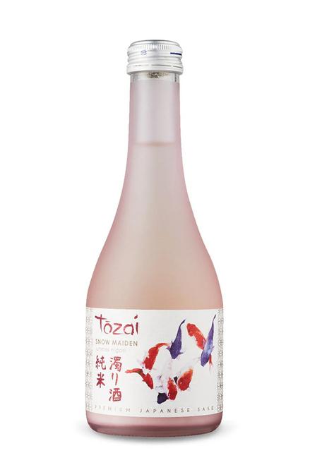 "Tozai ""Snow Maiden"" junmai nigori Premium Japanese Sake 300mL"