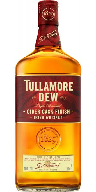 Tullamore D.E.W. Cider Cask Finish Triple Distilled Irish Whiskey 750mL